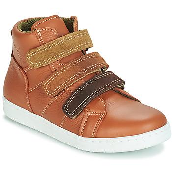 Zapatos Niño Botas de caña baja André TRITON Camel