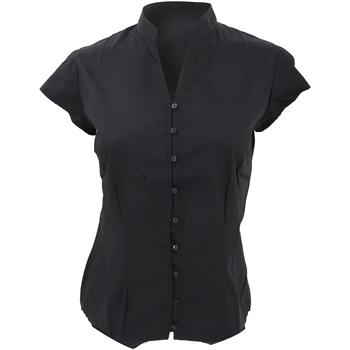 textil Mujer Camisas Kustom Kit KK727 Negro