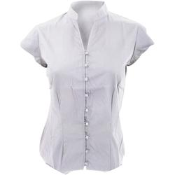textil Mujer Camisas Kustom Kit KK727 Blanco