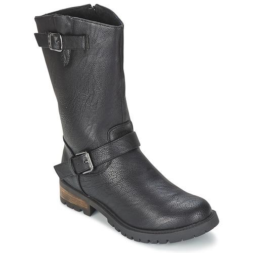 Zapatos Mujer Botas de caña baja Les P'tites Bombes ZOLA Negro