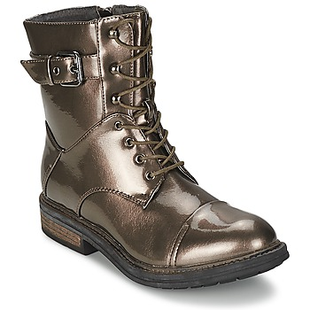 Zapatos Mujer Botas de caña baja Les P'tites Bombes STONE Plateado