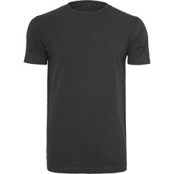 textil Hombre Camisetas manga corta Build Your Brand BY004 Negro
