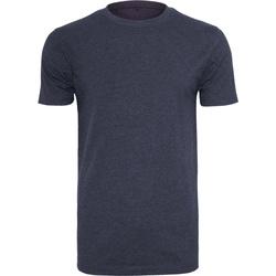 textil Hombre Camisetas manga corta Build Your Brand BY004 Azul marino