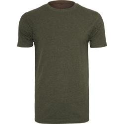 textil Hombre Camisetas manga corta Build Your Brand BY004 Oliva