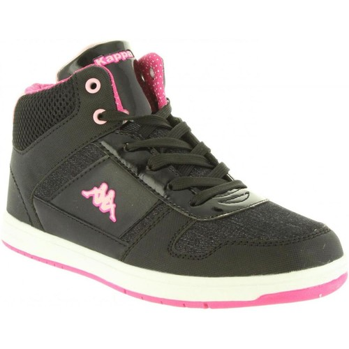 Zapatos Mujer Zapatillas altas Kappa 303ZLP0 DRAVER Negro