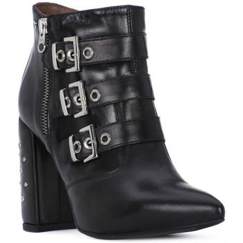 Zapatos Mujer Botas urbanas Nero Giardini MP NERO GIARDINI  NAPPA PANDORA Nero
