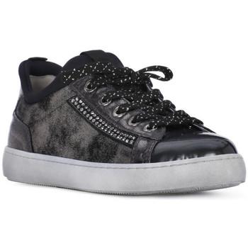 Zapatos Niña Zapatillas bajas Nero Giardini NERO GIARDINI  DAFNE STEEL Grigio