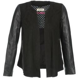 textil Mujer Chaquetas de cuero / Polipiel Naf Naf COCOTTE Negro