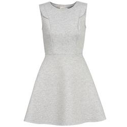 textil Mujer vestidos cortos Naf Naf ELOLA Gris