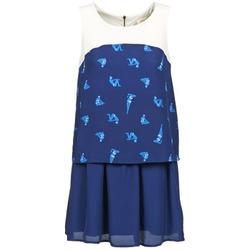 textil Mujer vestidos cortos Naf Naf LIBAIN Marino