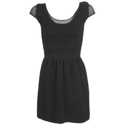 textil Mujer Vestidos cortos Naf Naf MANGUILLA Negro
