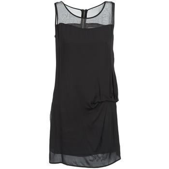 textil Mujer vestidos cortos Naf Naf X-LAMO Negro
