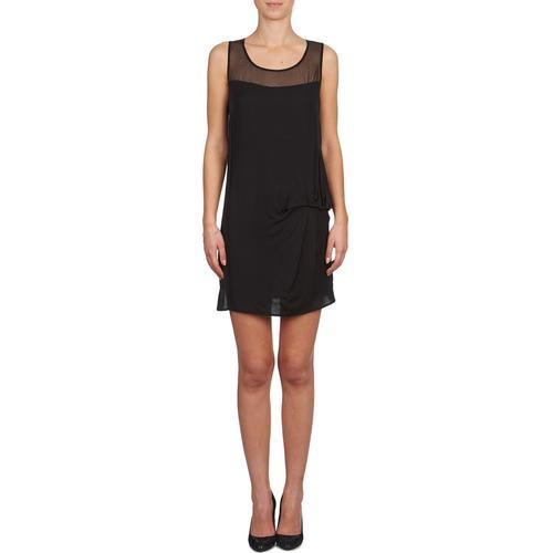 lamo Vestidos Cortos X Naf Textil Negro Mujer Owv8ymNn0