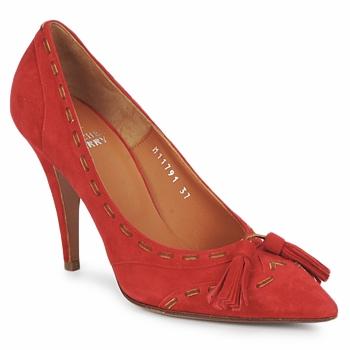 Zapatos Mujer Zapatos de tacón Michel Perry CAMOSCIO Rubí