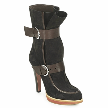 Zapatos Mujer Botines Michel Perry WILD Madras-brown