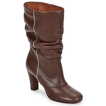 Zapatos Mujer Botines Michel Perry SAHARA Kaki