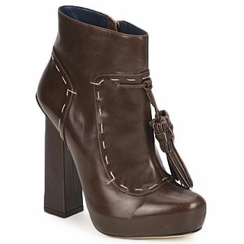 Zapatos Mujer Botines Pollini PA2405 Tmoro