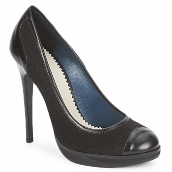 Zapatos Mujer Zapatos de tacón Pollini PA1010 Lima - lana - negro