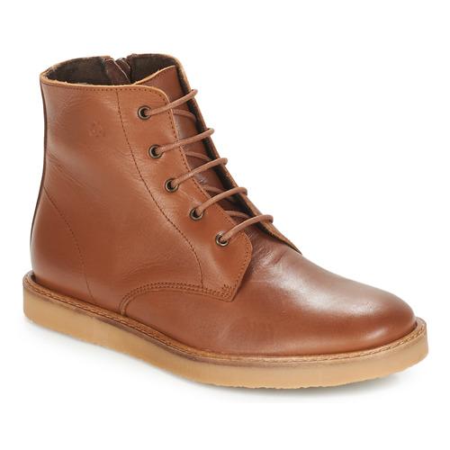 Zapatos Niños Botas de caña baja Citrouille et Compagnie HATINE Marrón