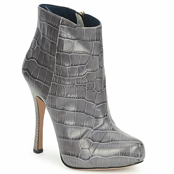 Zapatos Mujer Botines Pollini PA2115 Coc.lu.smog