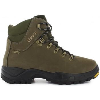 Zapatos Senderismo Chiruca Botas  Cares 01 Goretex Verde