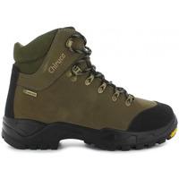 Zapatos Senderismo Chiruca Botas  Cares Force 01 Verde Goretex Verde