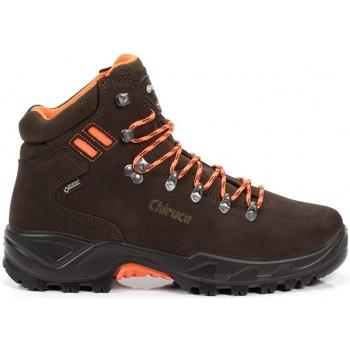 Zapatos Senderismo Chiruca Botas  Berrea Hi Vi 08 Goretex Marrón