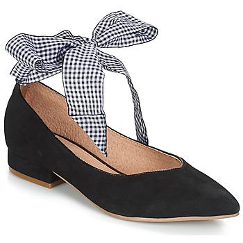Zapatos Mujer Bailarinas-manoletinas Karston KEBEC Negro