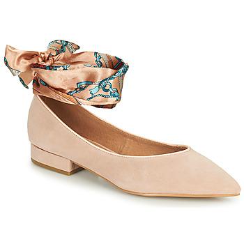 Zapatos Mujer Bailarinas-manoletinas Karston KEBEC Rosa