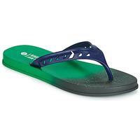 Zapatos Hombre Chanclas Rider JAM FLOW THONG Verde / Negro / Azul