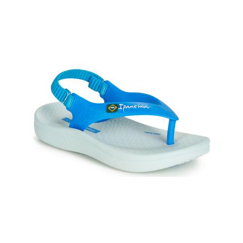 Zapatos Niños Sandalias Ipanema ANATOMIC SOFT BABY Azul / Blanco