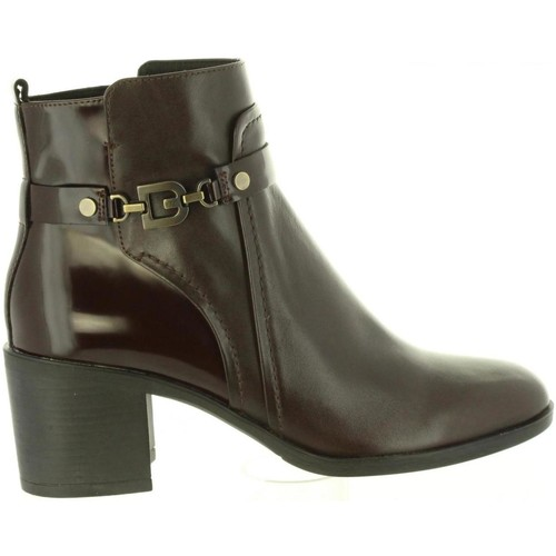 Zapatos Mujer Botines Geox D843CB 043BC D GLYNNA Marr?n