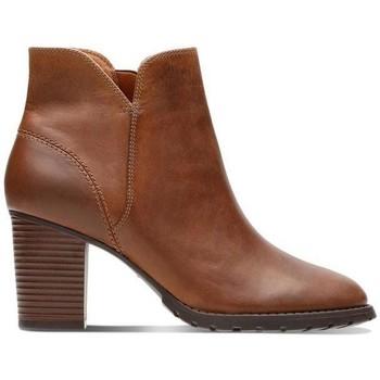 Zapatos Mujer Botines Clarks Verona Trish Marrón