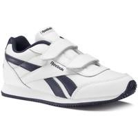 Zapatos Niños Zapatillas bajas Reebok Sport Royal CL Jogger Blanco