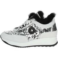 Zapatos Mujer Zapatillas bajas Agile By Ruco Line G-1304 Gris hielo