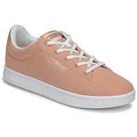 Zapatos Niña Zapatillas bajas Kappa TCHOURI LACE Rosa / Blanco