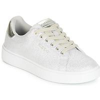Zapatos Niña Zapatillas bajas Kappa SAN REMO KID Blanco / Plateado