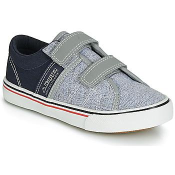 Zapatos Niño Zapatillas bajas Kappa CALEXI V Gris / Marino