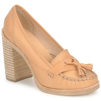 Zapatos Mujer Zapatos de tacón Swedish hasbeens TASSEL LOAFER Beige