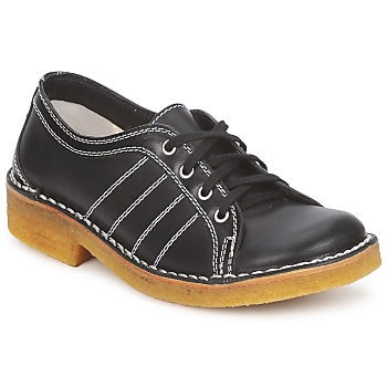Zapatos Hombre Derbie Swedish hasbeens BIG BABY Negro