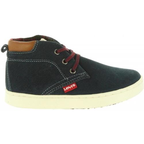 Zapatos Niños Botas de caña baja Levi's VCAM0001L CAMBRIDGE Azul