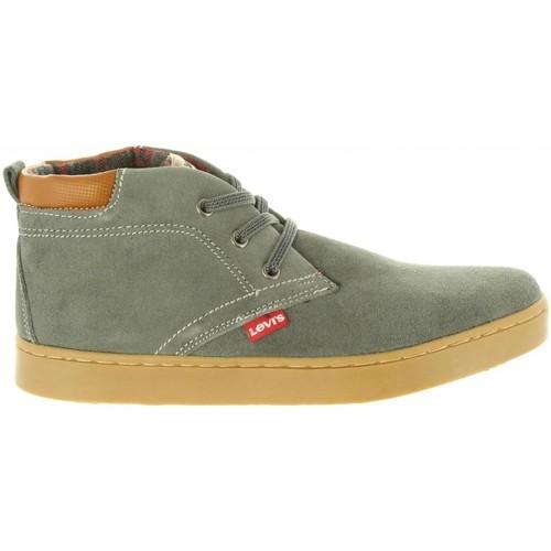 Zapatos Niños Botas de caña baja Levi's VCAM0002L CAMBRIDGE Gris