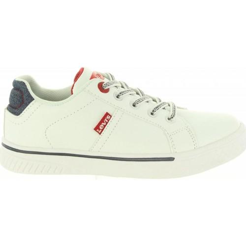 Zapatos Niños Zapatillas bajas Levi's VFUT0020S OPEN Blanco
