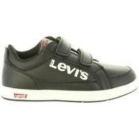 Zapatos Niños Zapatillas bajas Levi's VGRA0012S GRANIT Negro