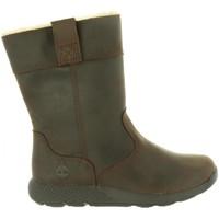 Zapatos Niños Botas urbanas Timberland A1R4R METROROAM DARK BROWN Marrón