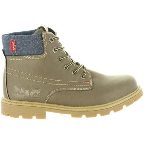 Zapatos Niños Botas de caña baja Levi's VFOR0010S FORREST Marr?n