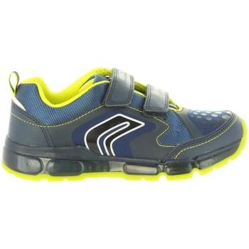 Zapatos Niños Zapatillas bajas Geox J8444A 0BU11 J ANDROID Azul