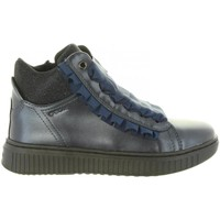 Zapatos Niña Zapatillas altas Geox J847YA 000NF J DISCOMIX Azul