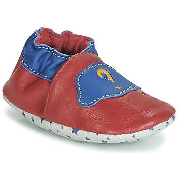 Zapatos Niños Botas de caña baja André LES BULLES Rojo