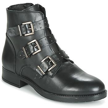 Zapatos Mujer Botas de caña baja André MATTHEW Negro
